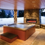 BI-40-SLIM Electric fireplace