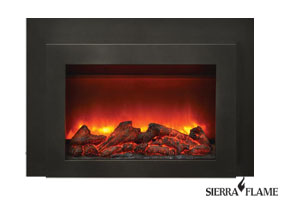Electric fireplace insert INS-FM-34