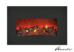 Electric fireplace insert Insert-30-BG
