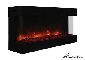 Amantii Tru-View-50 electric fireplace
