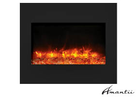 ZECL-BG-30 zero clearance electric fireplace