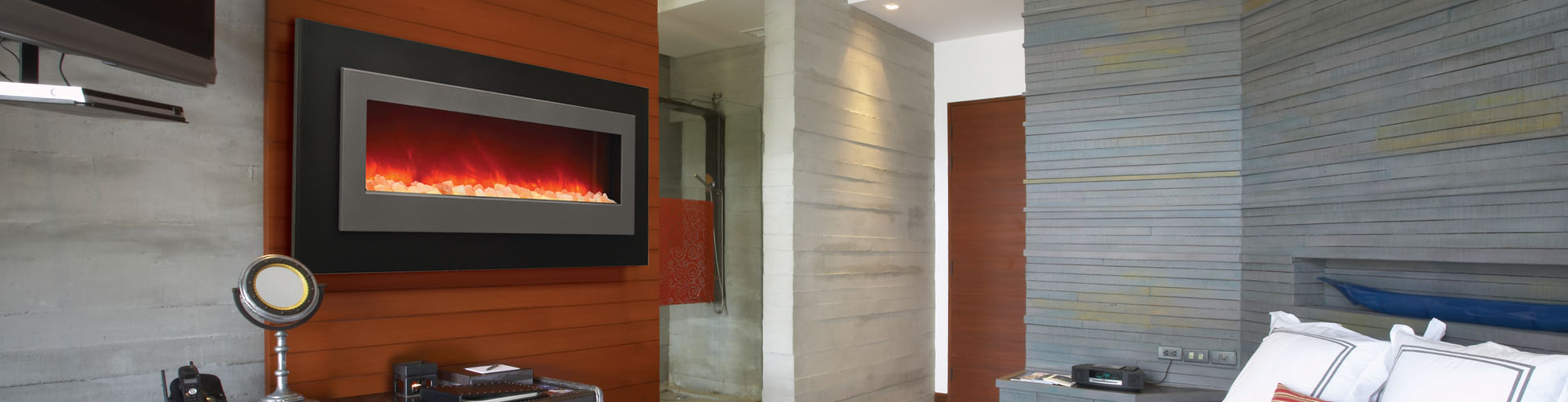 WM-FML-62 electric fireplace
