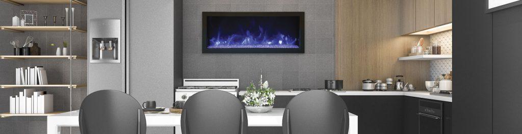 Amantii BI-40-XTRASLIM electric fireplace