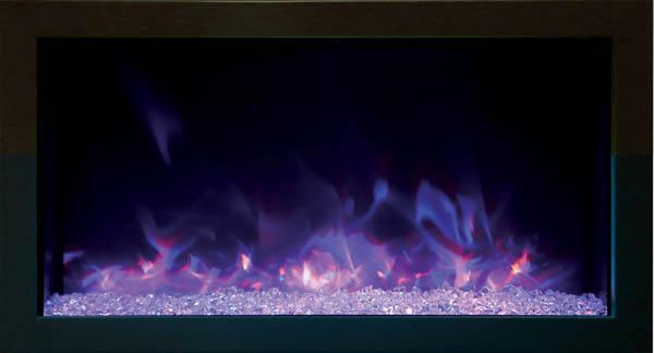 Amantii extra slim electric fireplace XS-30