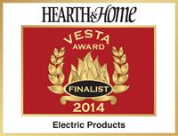Electric fireplace award