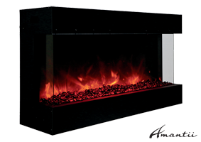 Amantii Tru-View-40 electric fireplace