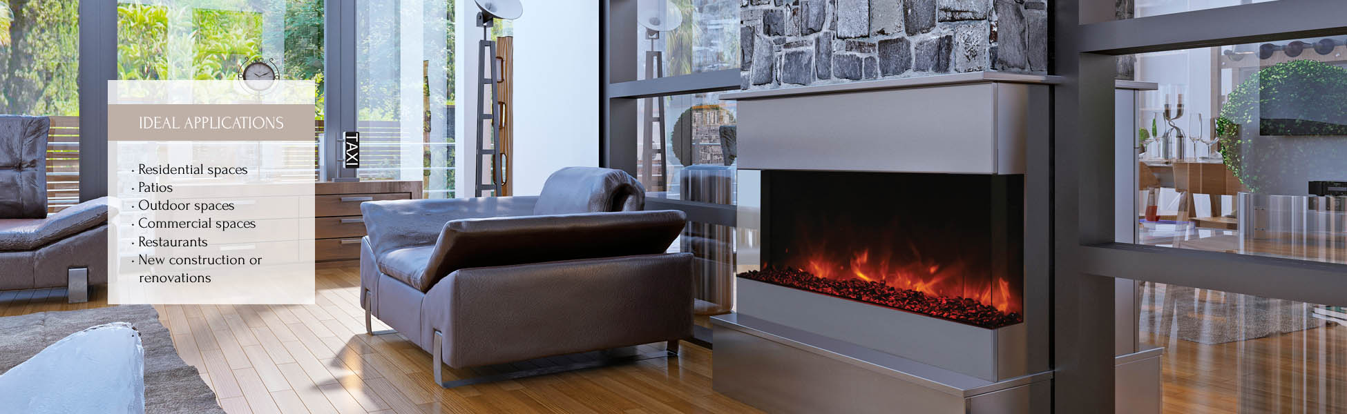 Amantii elecltric fireplace