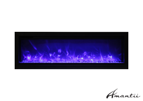 SYM-50-B - Symmetry Electric Fireplace