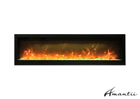 SYM-60-B - Symmetry Electric Fireplace