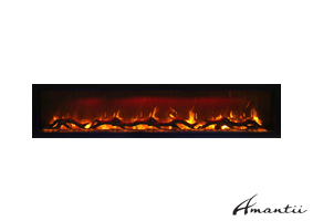 SYM-74- Symmetry Electric Fireplace