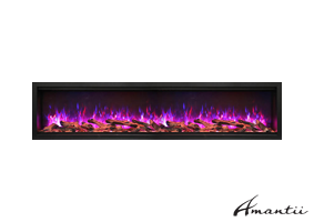 SYM-88-XT - Symmetry Electric Fireplace