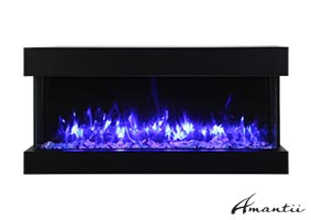 30-TRU-VIEW-SLIM – 3 Sided Electric Fireplace