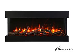60-TRU-VIEW-SLIM – 3 Sided Electric Fireplace