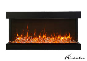 60-TRU-VIEW-XL XT– 3 Sided Electric Fireplace